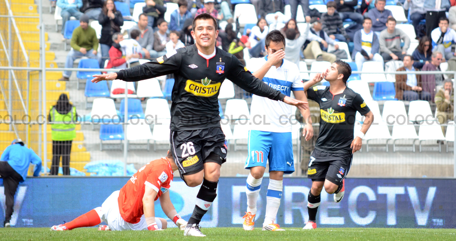 Colo-Colo vs UC, Chilean National Tournament 2013