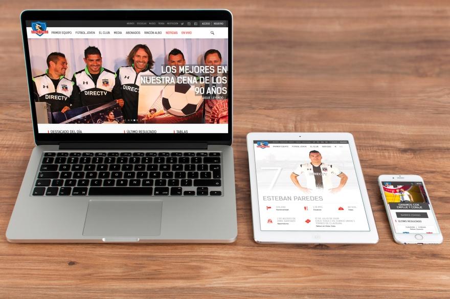 Colo-Colo Website